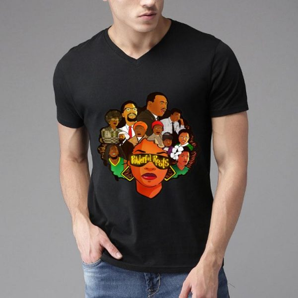 I Love My Roots Powerful Roots Black History Month shirt