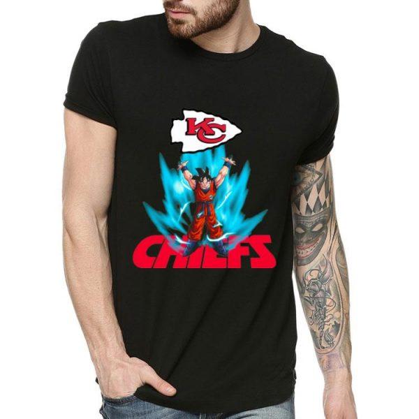 Kansas City Chiefs Super Bowl Champions Goku Genkidama shirt