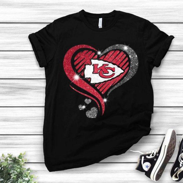 Kansas City Chiefs Super Bowl Champions Heart Diamond shirt