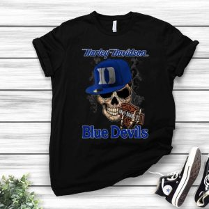 Motor Harley Davidson Cycles Duke Blue Devils shirt