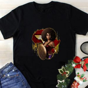 Original Black Girl Mashup Wonder Woman shirt