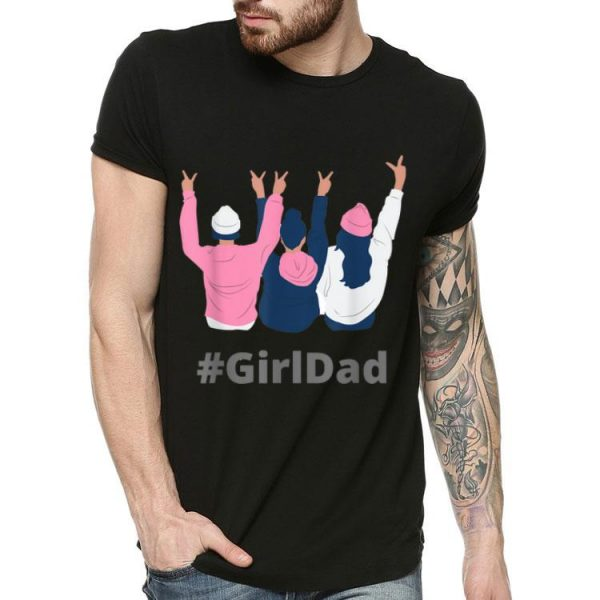 #girldad - For Dads With Daughters Kobe Bryant shirt