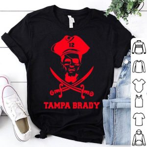 12 Tampa Brady Pirates shirt