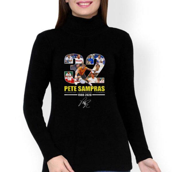 32 Pete Sampras 14 Grand Slam 7 Wimbledon Signature shirt