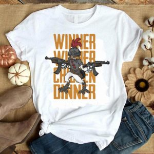 Chicken PUBG Winner Winner Chicken Dinner shirt