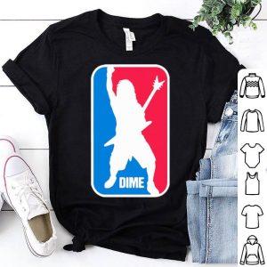 Dimebag Darrell NBA Logo DIME shirt