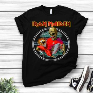 Iron Maiden Liverpool You'll Never Walk Alone shirt