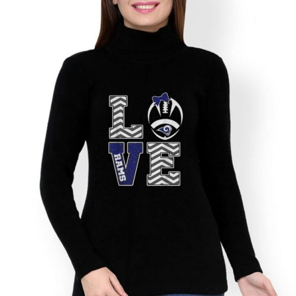 Love Football Los Angeles Rams shirt