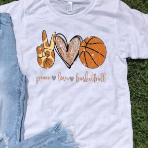 Peace Love Diamonds Basketball shirt