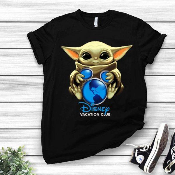 Star Wars Baby Yoda Hug Disney Vacation Club shirt