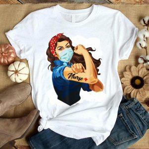 Strong Girl Tattoo Nurse Fighting shirt