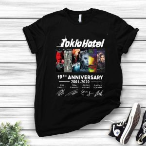 Tokio Hotel 19th Anniversary Thank You For The Memories Signatures shirt