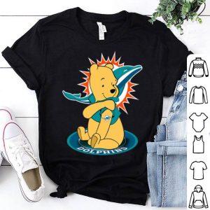 Winnie-the-pooh Tattoo Miami Dolphins shirt