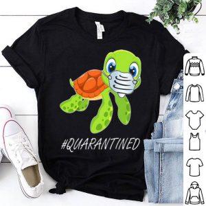 Turtle Mask #Quarantined Covid-19 shirt