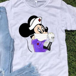 Disney Mickey Mouse Strong Nurse shirt