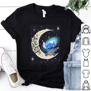 I love you to the moon & back Stitch shirt