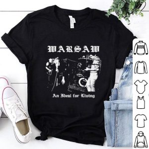 Warsaw an ideal for living shirt