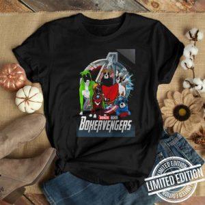 Boxer Boxervengers Marvel Avengers Endgame Logo shirt