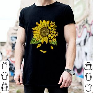 Face Jack Skellington you are my sunshine Sunflower shirt