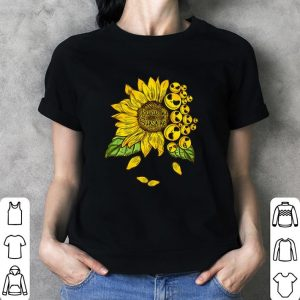 Face Jack Skellington you are my sunshine Sunflower shirt 2