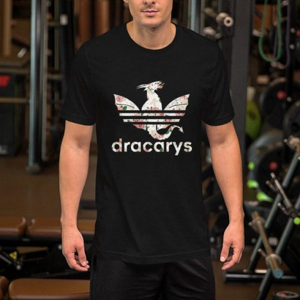 Flowers Dracarys Adidas Game Of Thrones shirt