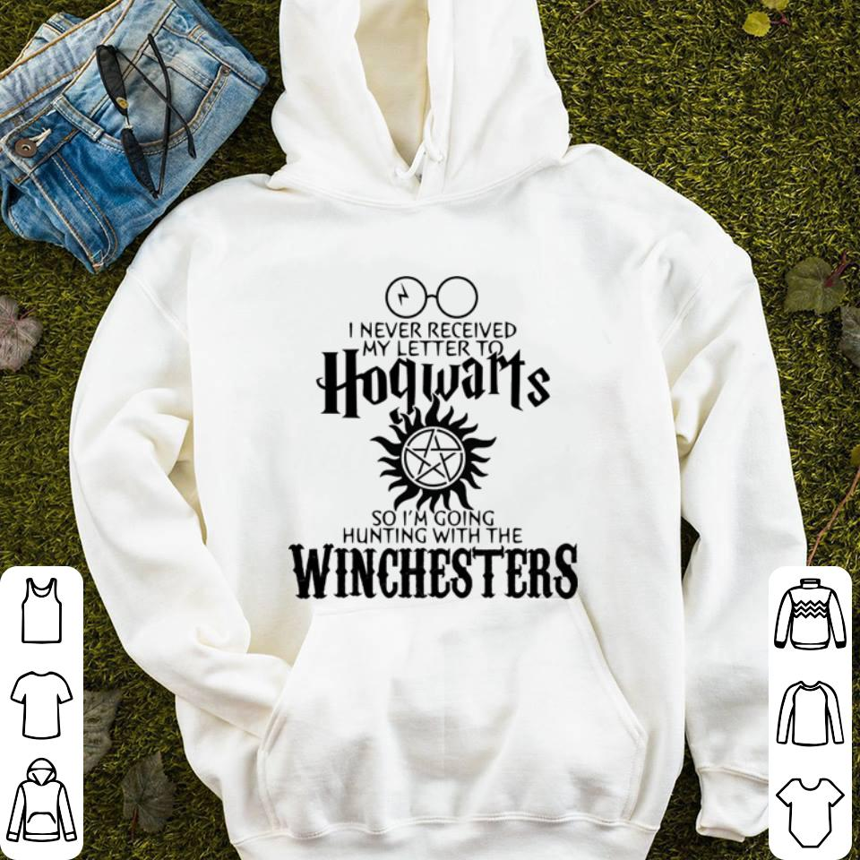 I never received my letter to Hogwarts so i m going hunting with the winchesters 4 - I never received my letter to Hogwarts so i'm going hunting with the winchesters