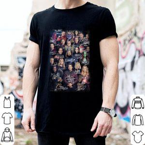 Marvel Avengers Endgame Character all signature shirt