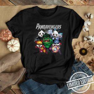 Marvel Avengers Endgame Pandavengers shirt