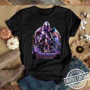 Marvel Avengers Endgame poster shirt