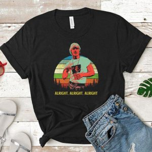 Matthew mcconaughey alright alright alright vintage shirt