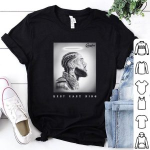 RIP Nipsey Hussle Rest in Peace Tribute Crenshaw Marathon shirt