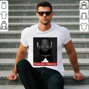 Rip King Nipsey Hussle Gracias Crenshaw TMC shirt