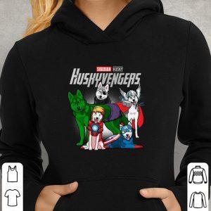 Siberian Husky Huskyvengers Marvel Avengers Endgame shirt 2