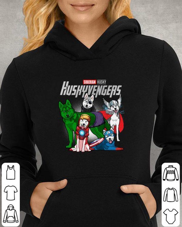 Siberian Husky Huskyvengers Marvel Avengers Endgame shirt