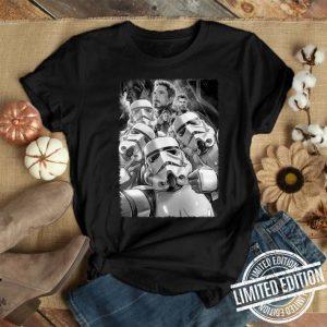 Star War Stormtrooper selfie Avengers Endgame shirt