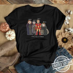 Tony Stark House Stark Game Of Thrones shirt