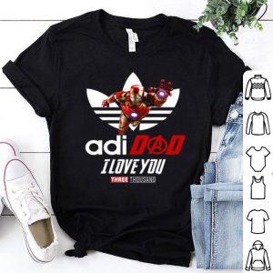 Avengers Iron Man adidad I love you Three Thousand Adidas shirt