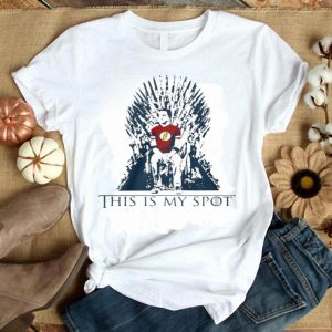 The Big Bang Theory Sheldon This Is My Spot Game Of Thrones shirt