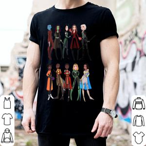 Avengers Endgame Super Heroes Woman shirt