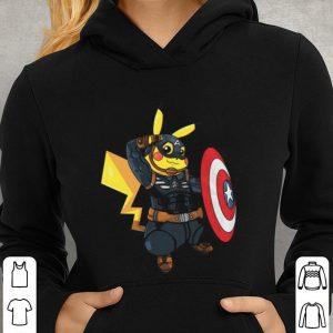 7bd00633 Captain America Pikachu Marvel Avenger shirt, hoodie, sweater ...