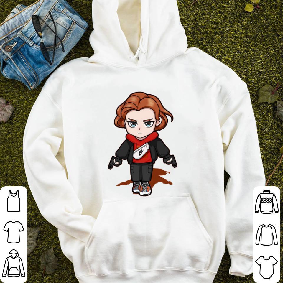 san francisco sleek look for Chibi Black Widow Nike bag Avengers shirt, hoodie, sweater ...