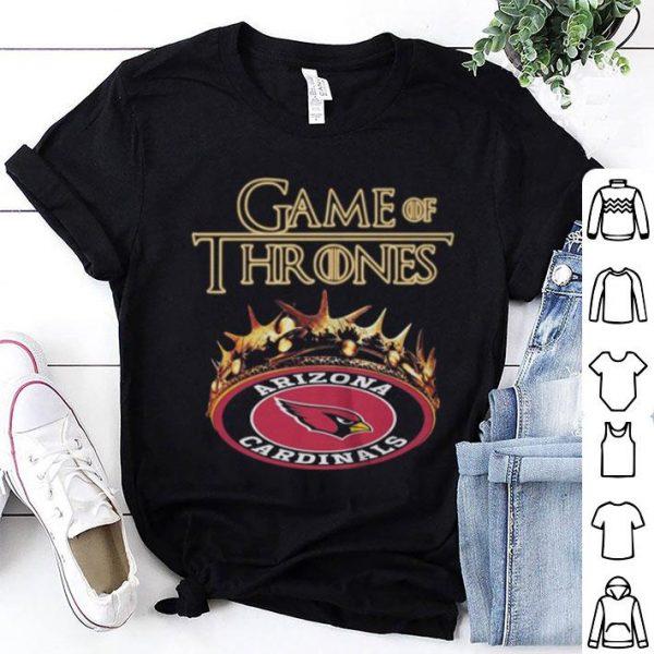 Game Of Thrones Crown Arizona Cardinals shirt