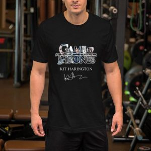 Game of Thrones Kit Harington Jon Snow signature shirt