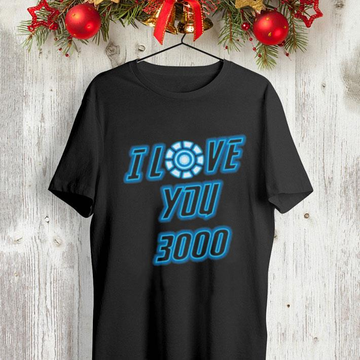 0f75a6a9b I Love You 3000 Tony Stark Avengers Endgame Iron Man shirt, hoodie ...