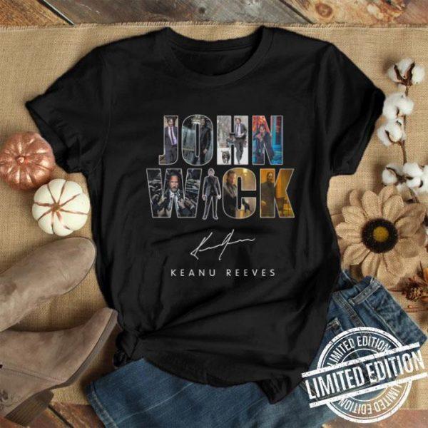 John Wick signature Keanu Reeves shirt