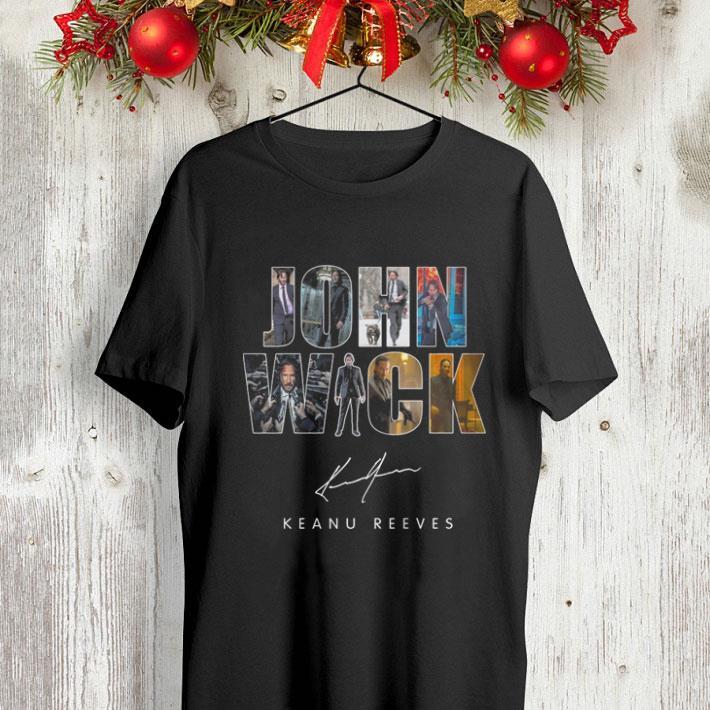 John Wick signature Keanu Reeves shirt 4 - John Wick signature Keanu Reeves shirt
