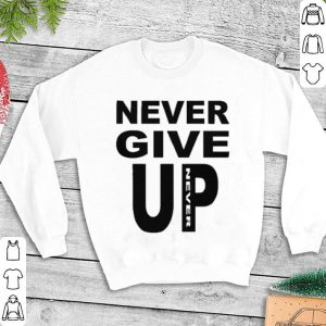Never give up never Mohamed Salah shirt