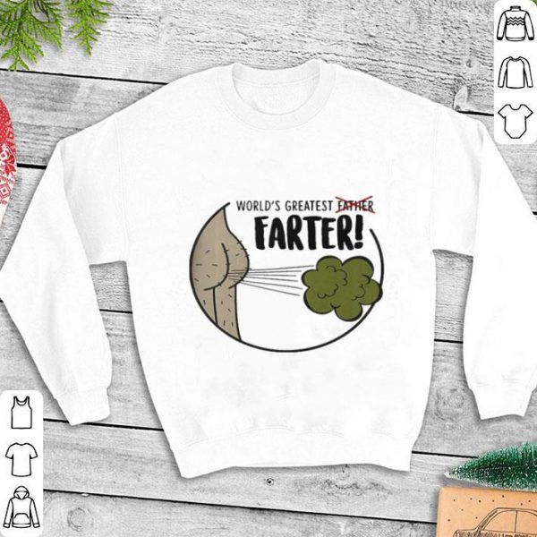 World's greatest father farter shirt