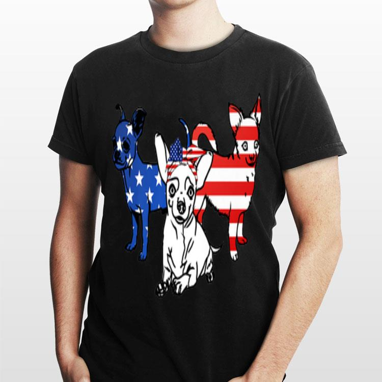 b43b5c8d4423 American Chihuahua Patriotic Us Flag 4th Of July shirt, hoodie ...
