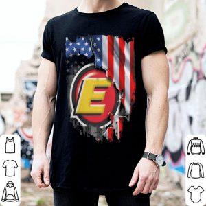 American flag strong Estes Express Lines shirt